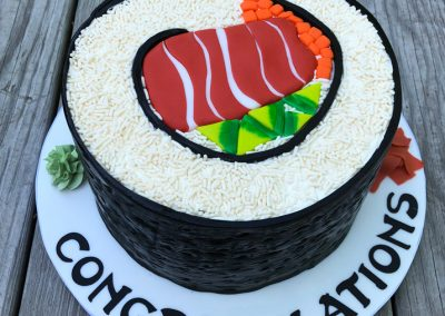 sushi congratulations